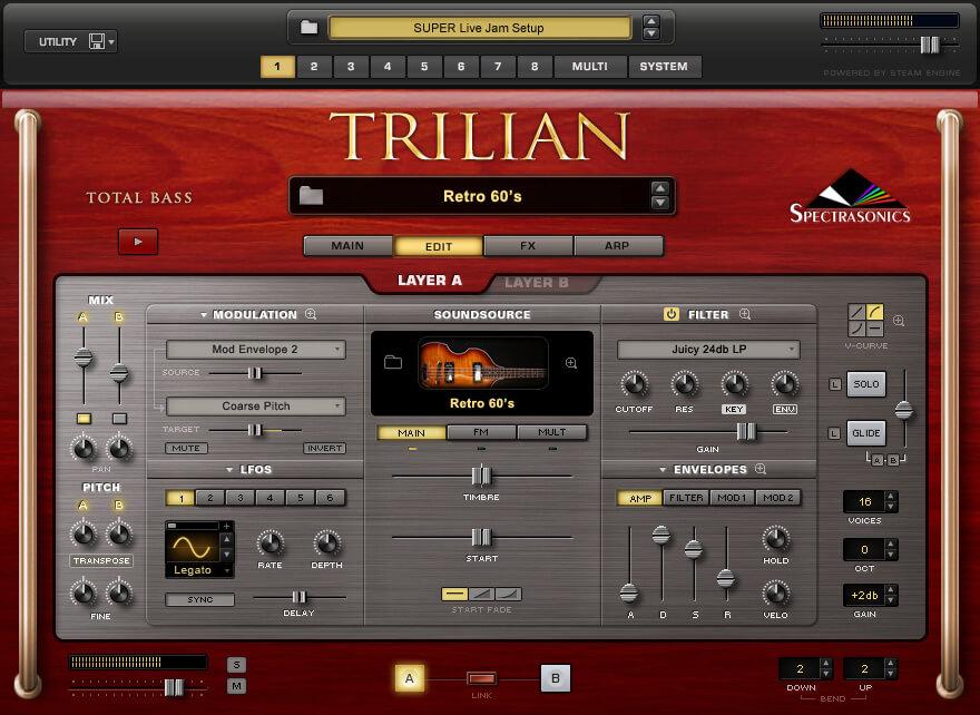 Trilian 1.5 VST layer 2021