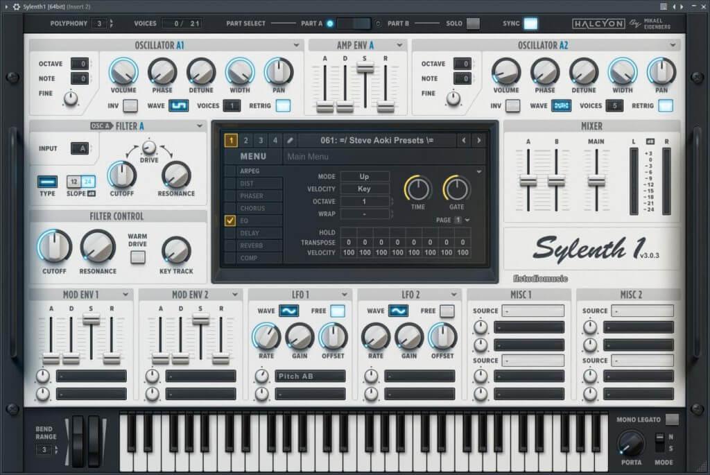 Sylenth Modular Presets for Sylenth1 serial key