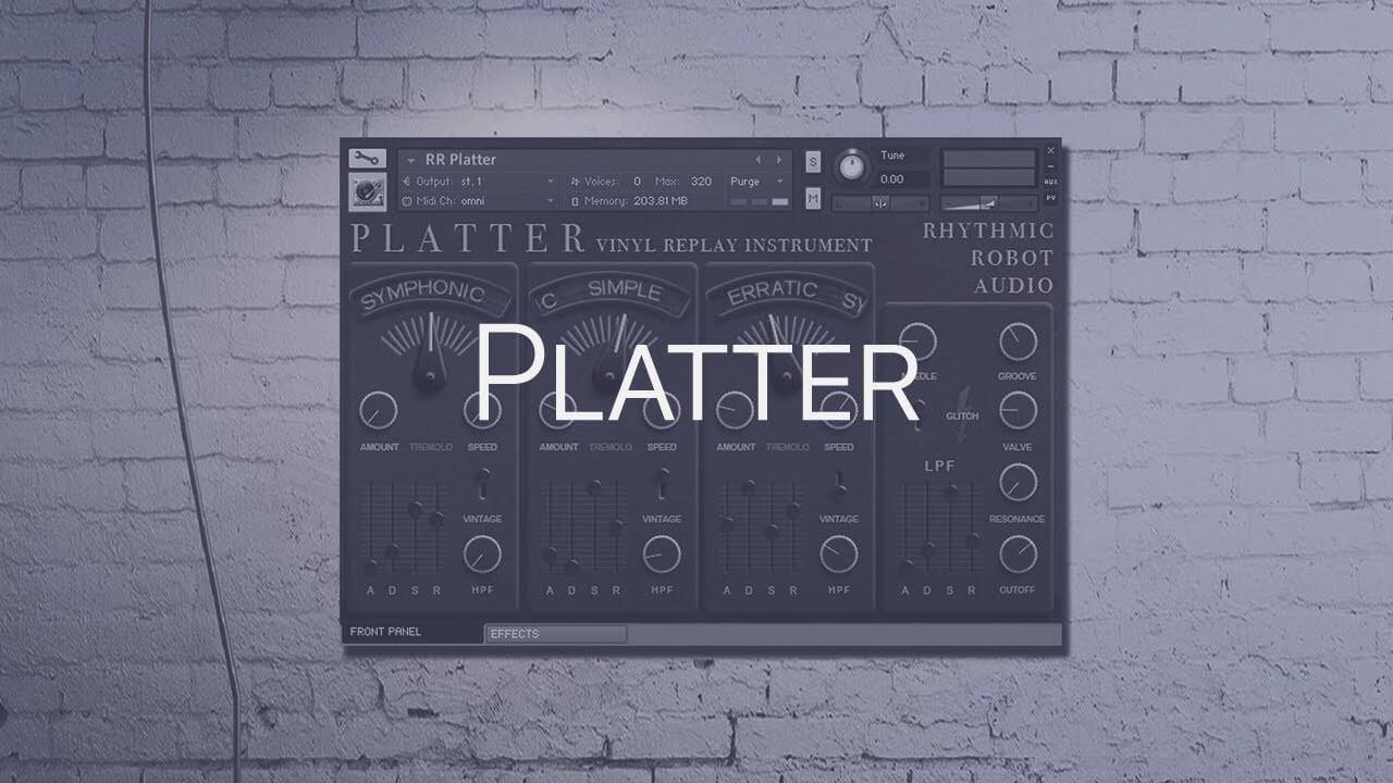 Rhythmic Robot Platter (KONTAKT) crack