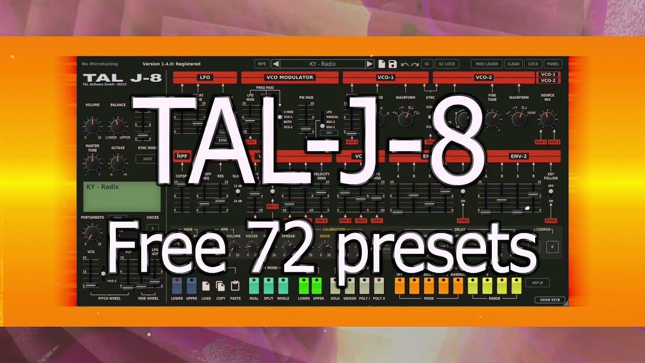 TAL Software – TAL-J-8 v1.2.5 full keygen crack