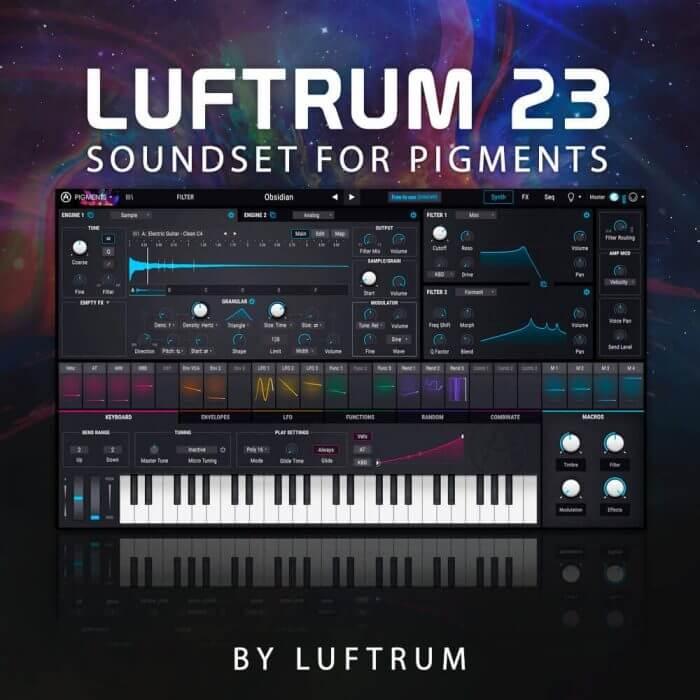 luftrum 23 for Arturia Pigments 2 torrent