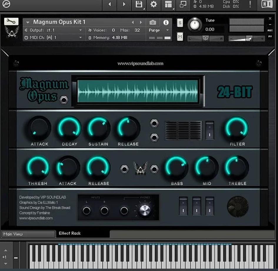 Vip Soundlab – Magnum Opus HD keygen